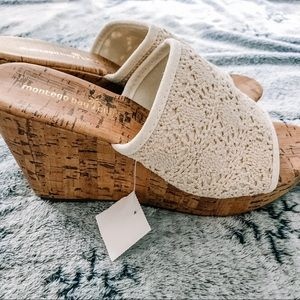 NWT Montego Bay Club Cork Wedge